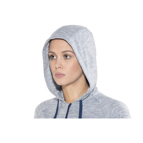 super.natural Essential Hoody Women Blue Melange